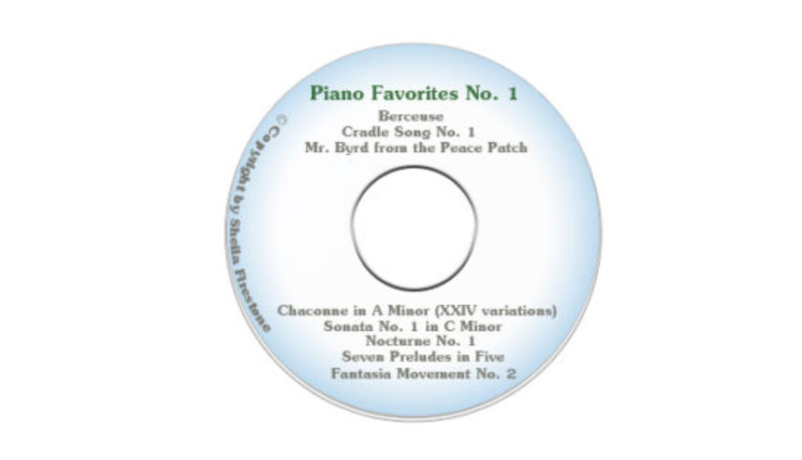 Piano Favorites No. 1