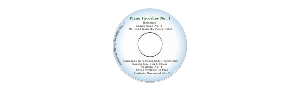Piano Favorites No. 1
