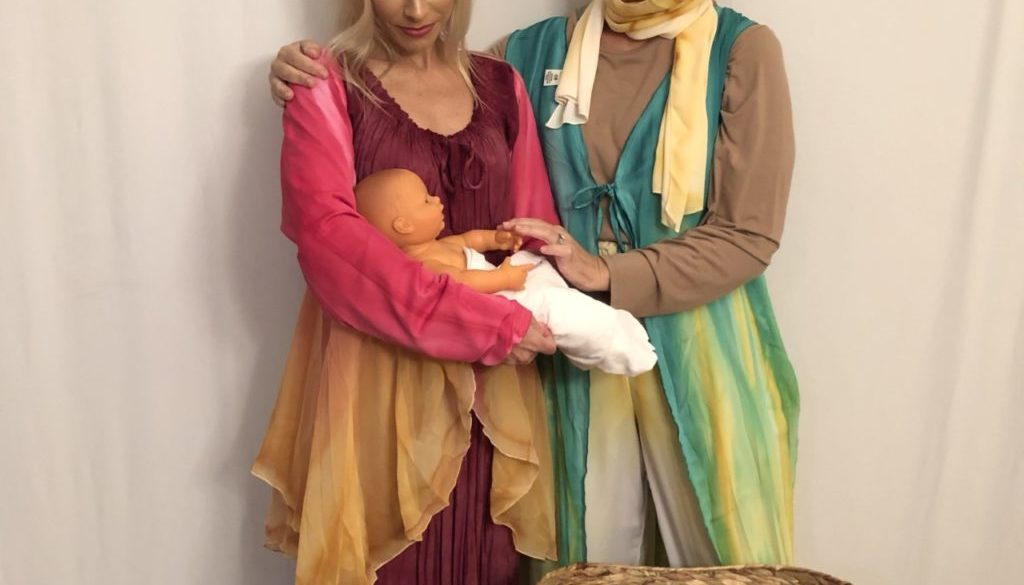 Sopranos, Heidi Marie Selonia as Seporah, In the birthing tent with Rose Lopater as Yocheved