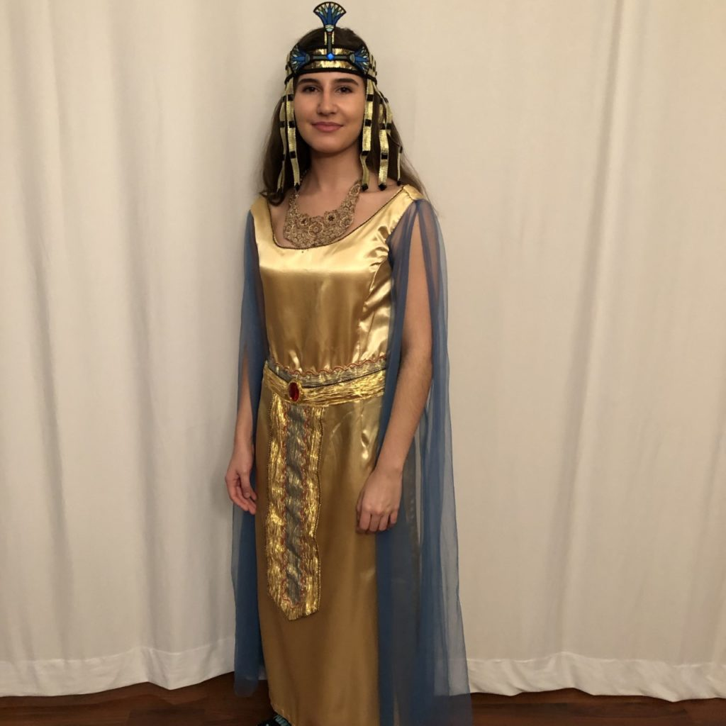 Jacqueline Kaskel as The Egyptian Princess Batya Jacqueline Kaskel as The Egyptian Princess Batya